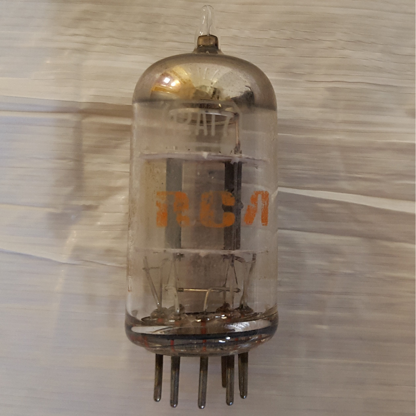RCA 12AT7 Gray Plate Preamp Tube