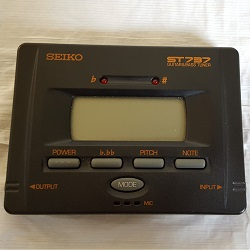Seiko ST737 Automatic Guitar and Bass Tuner