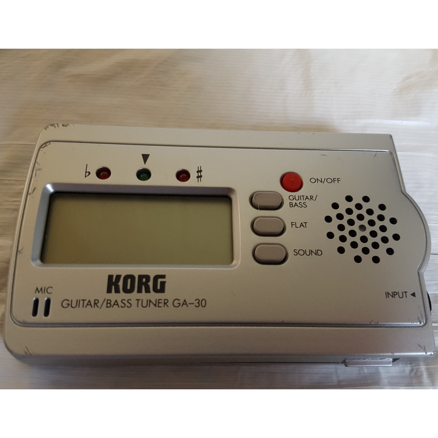 Korg GA-30 Automatic Ultra Compact Guitar and Bass Tuner