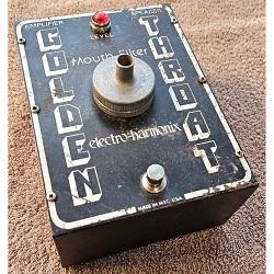 1975 Electro-Harmonix Golden Throat Talk Box Mouth Tube Vintage Original Guitar Pedal