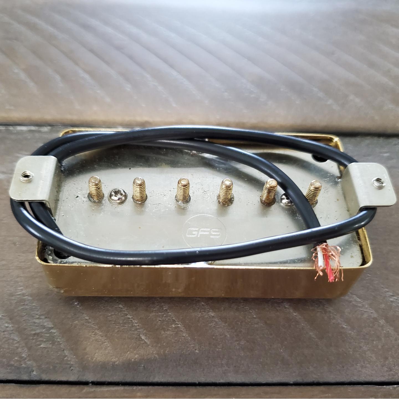 GFS Gold P-90 Humbucker Gold Electric Guitar P90 Guitar Fetish Pickup