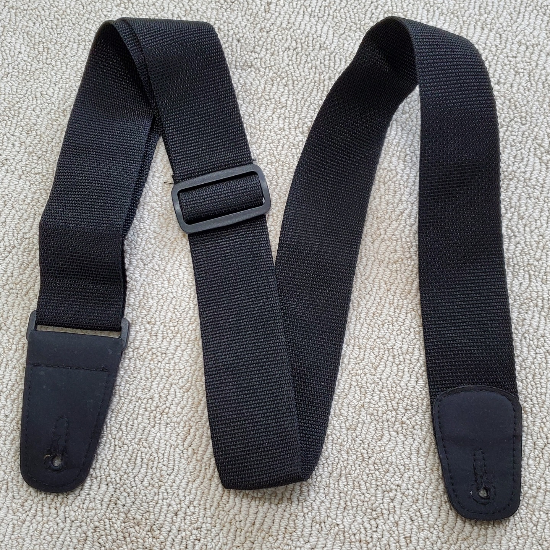 Black Guitar Strap