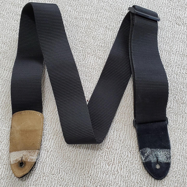 Levy's M8 Black Woven Guitar Strap