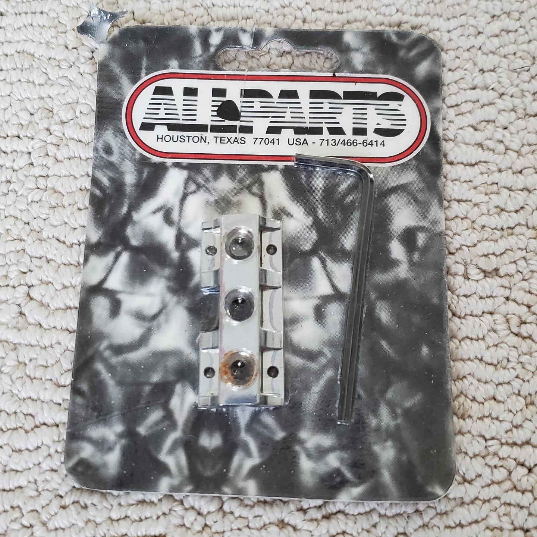 Allparts Chrome Kahler Style Locking Guitar Nut Base Only BP-0278