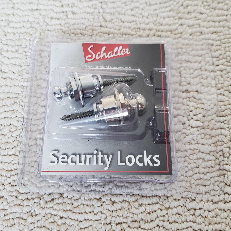 Schaller Chrome Security Locking Strap Locks